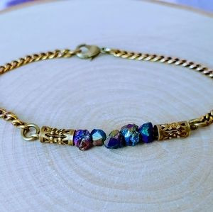 Rainbow crystal bracelet, Tranquilvania Jewelry